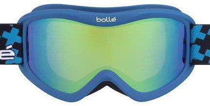 56d972a2d6b1 Bolle Volt Plus Childrens Ski Goggles 21360 MATTE BLUE CROSS GREEN EMERALD  (CAT 2)