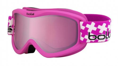 e25938fbdcec Bolle Volt Plus Childrens Ski Goggles 21362 MATTE PINK CROSS VERMILLION GUN  (CAT 2)