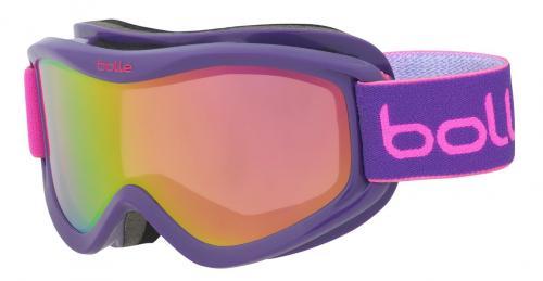 58f1859f5abb Bolle Volt Plus Childrens Ski Goggles 21586 PURPLE BLOCKS ROSE GOLD (CAT 2)
